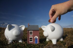 Putting away savings for a home